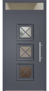 kunststoff haust r modell 342 25 schiefergrau haust ren. Black Bedroom Furniture Sets. Home Design Ideas