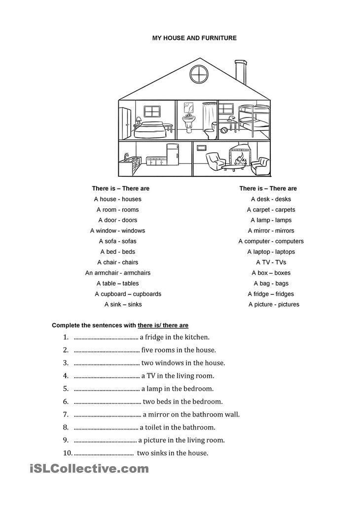 36 best Preposition, house images on Pinterest | English language ...