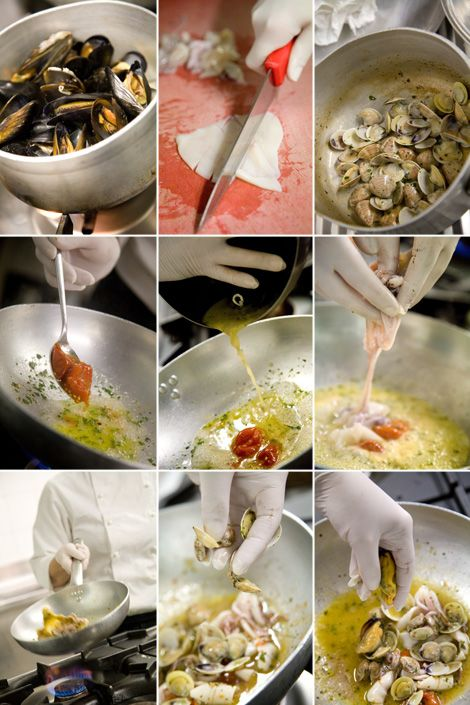 La ricetta degli gnocchetti di patate con frutti di mare
