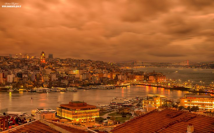 turuncu istanbul by serhat bozkurt on 500px