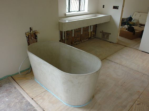 Concrete Bathtub Pcd Homes Elegant House Designs And Ideas