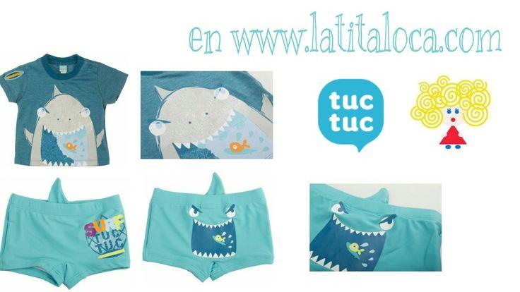 Disponible en www.latitaloca.com  Envios gratis  http://latitaloca.com/es/180-nueva-temporada-tuc-tuc-primavera-verano-2016