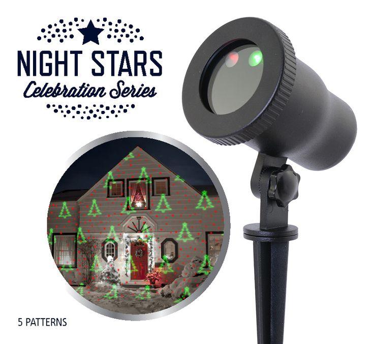 Laser Light - Night Stars 5 patterns  Description: Laser Light - Night Stars 5 patters is een decoratieve laser projector die ideaal is voor binnen en buiten! U kunt de projector makkelijk plaatsen in uw tuin binnenshuis bij de schuur of onder de veranda. Ook erg leuk om te gebruiken op een dansvloer of bij een zwembad. Zet de laser light aan en u kunt direct genieten van prachtige verlichting en een gezellige sfeer. De laser kan tegen water en is dus ook een ideale vervanger voor de…