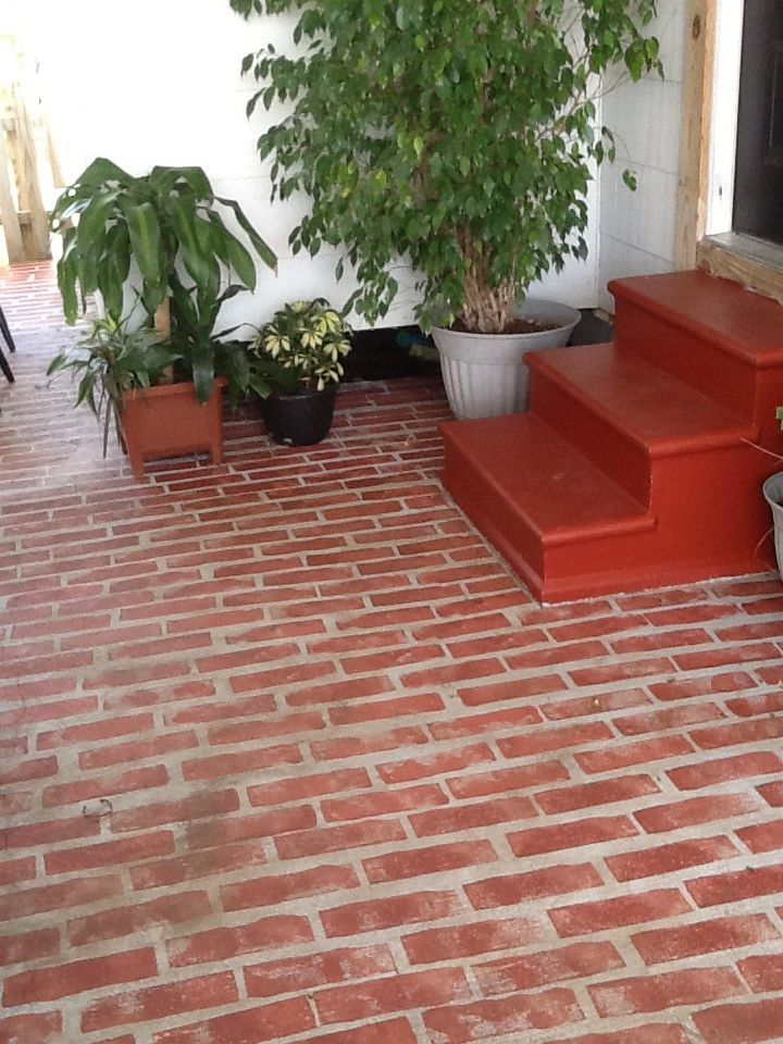 24 best faux brick floors images on pinterest brick