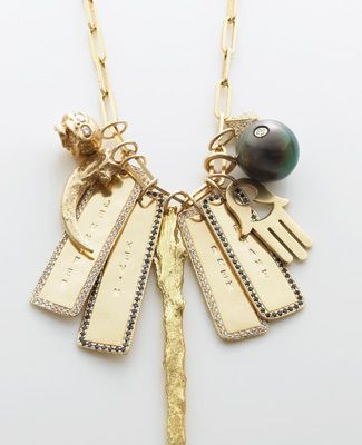 Jennifer Fisher Charm Necklace