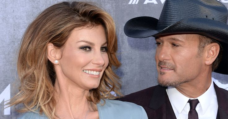 """Tim McGraw tells us why he considers himself """"lucky"""" to have Faith Hill"""