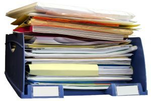 Tips to Tame the Paper Clutter