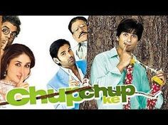 Chup Chup Ke | Full Hindi Movie | Shahid Kapoor, Kareena Kapoor | HD | A young man named Jeetu finds himself in debt with his father receiving harassing visits from money-lenders. Although his father is scolded daily for his non-progress in their debts, his mother and his fiancée Pooja believe he can successfully fulfill his task and live happily, but burdened with ... | http://masalamoviez.com/chup-chup-ke-full-hindi-movie-shahid-kapoor-kareena-kapoor-hd/