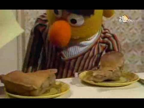 Bert & Ernie - Appeltaart delen
