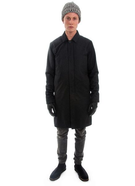 Welter Shelter FW15 Long Dong antracite wool