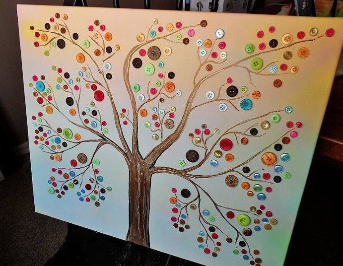 17 best images about art on pinterest blank canvas for Step by step canvas painting for kids