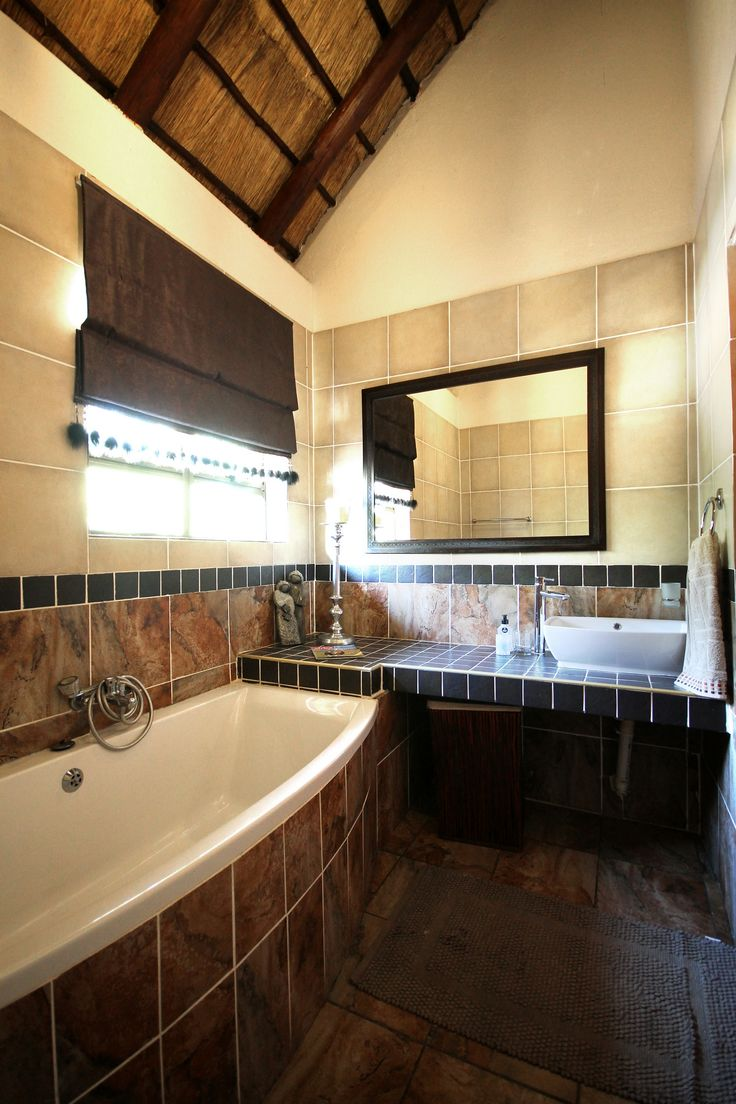 Enjoy mind, body and soul relaxation in Eden Safari Country House's Luxurious bathroom