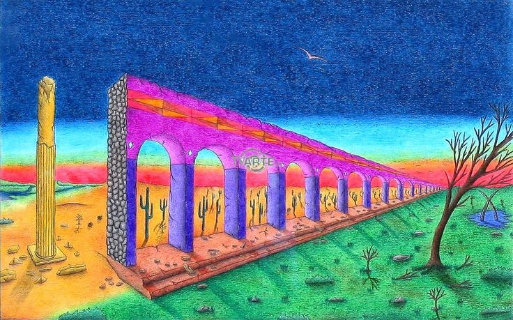 """La solitudine del poeta"" Artista: Francesco Roselli Categoria: paesaggistico #TvArte"