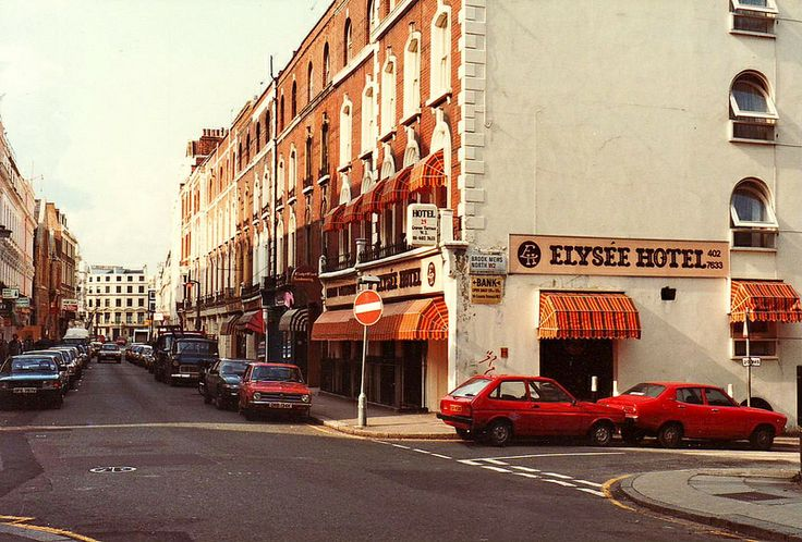 1983 - Elysee Hotel, 25 Craven Terrace, London W2. Former home of the Walkabout Club.