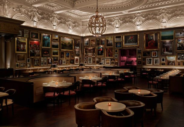 The London EDITION Berners Tavern Sitting Area