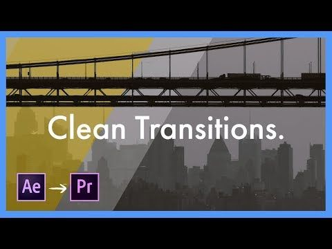 Adobe After Effects template to Premiere Pro CC mogrt template