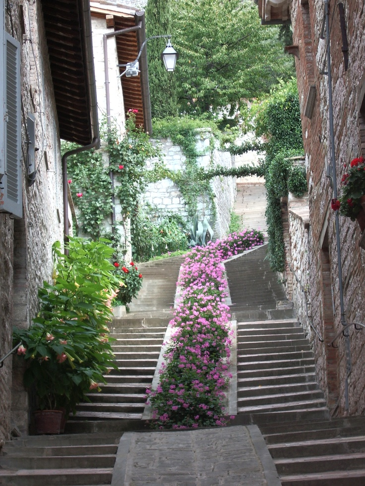 Gubbio, a beautiful village in Umbria