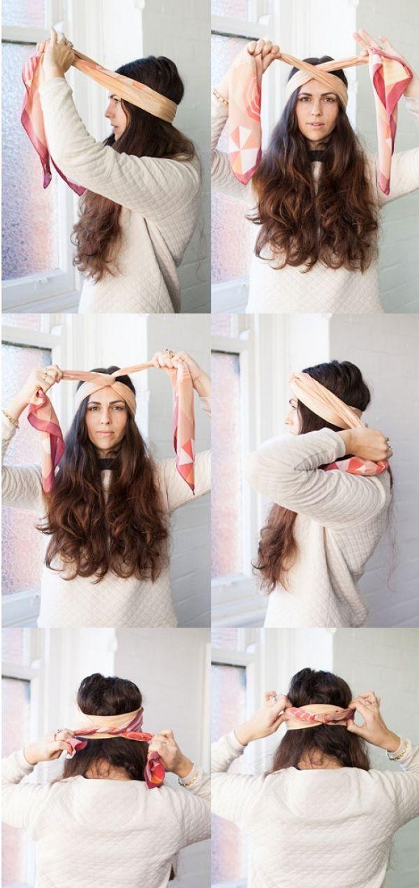 Чтобы быть модной, нужно не только иметь в гардеробе много платков, нужно уметь их красиво и элегант...
