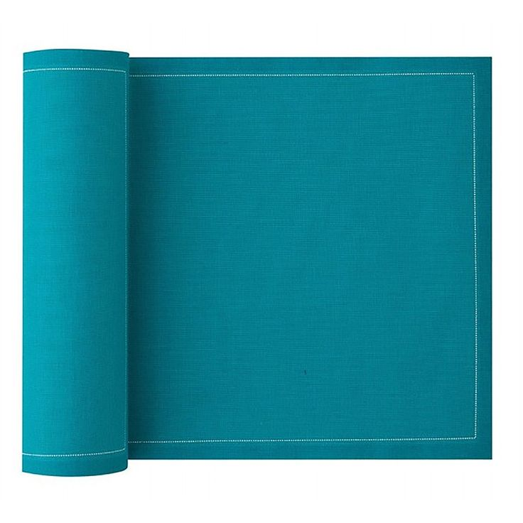 MYdrap Cotton Napkins - Caribbean Blue