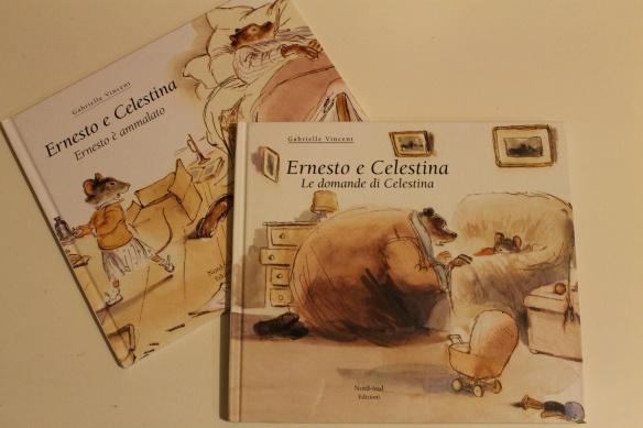 Libri illustrati per bambini Ernesto e Celestina di Gabrielle Vincent