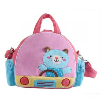 Cotton Cartoon Backpack Children's Schoolbag Rabbit Shoulder Bag