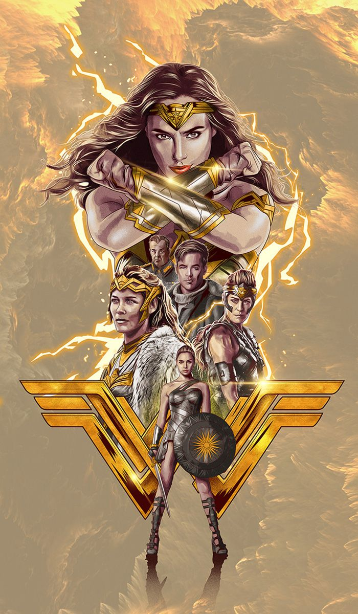 Wonder Woman by Chris Christodoulou - Home of the Alternative Movie Poster -AMP-