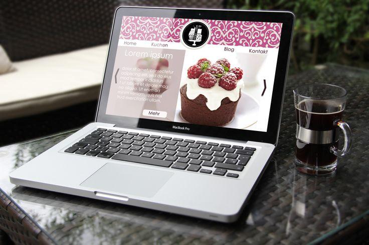 Süti-cake webdesign
