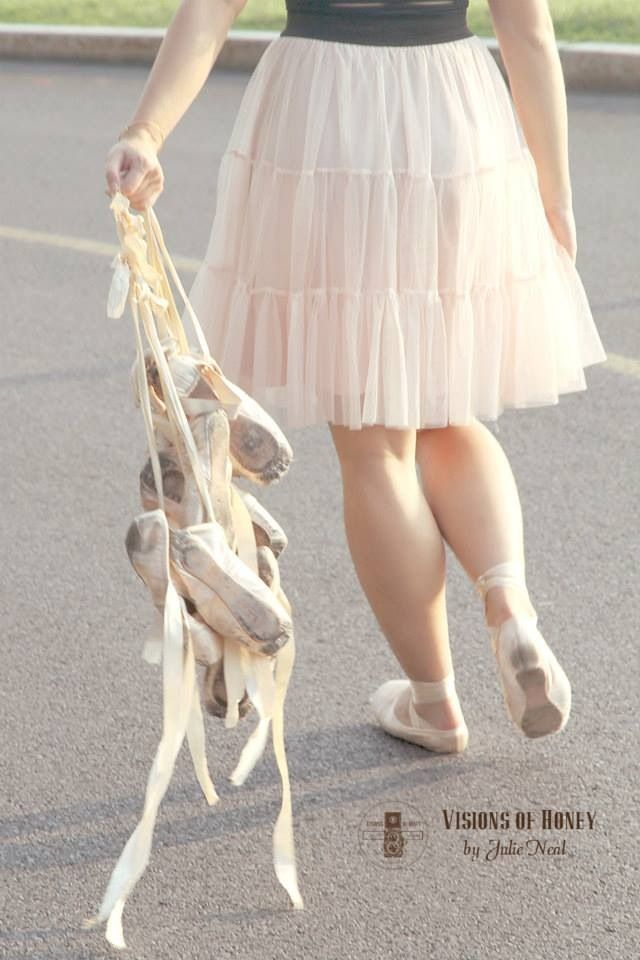 Can't wait until I have dead pointe shoes... okay, I am gonna do this one shoe at a time