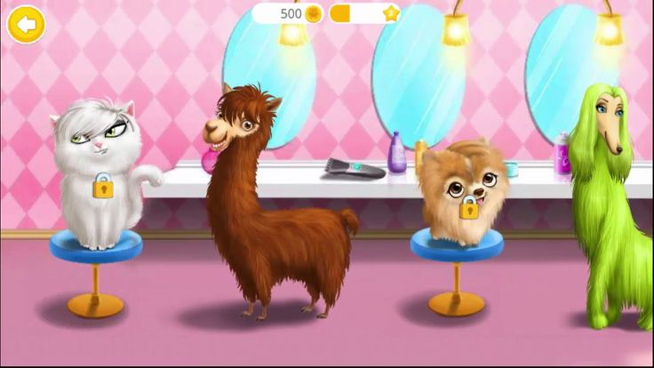 Animal Hair Salon Games: Wild Pets Haircut Baby jungle Animal Hair Salon | Animals Games for Kids