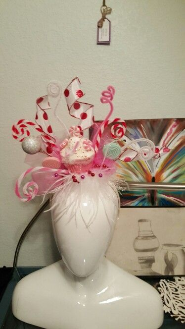 Made headband for whoville event