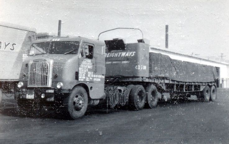 143 Best Images About Old Freight Trucks On Pinterest