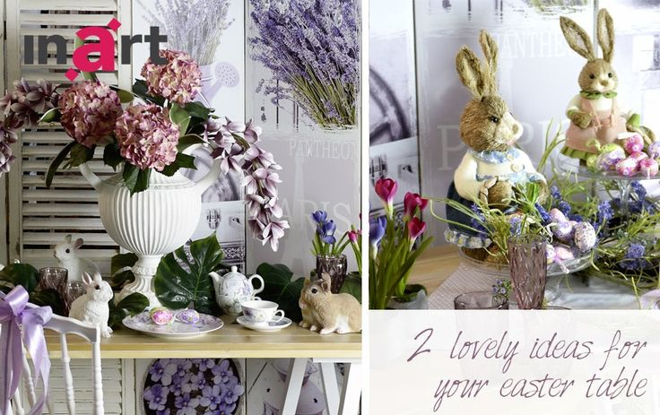 Two lovely ideas for your Easter table!