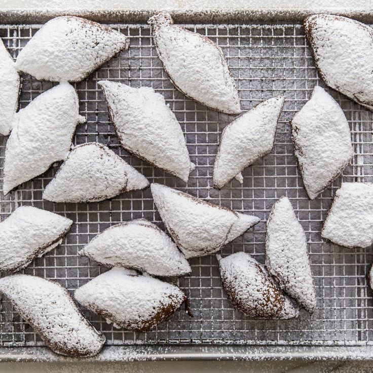 The high protein content in bread flour gives these classic-style beignets their slightly chewy texture.