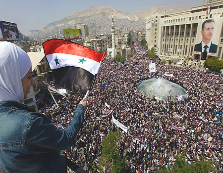 Reps From Half the World's Population Meet to Resist Foreign Destabilization in #Syria