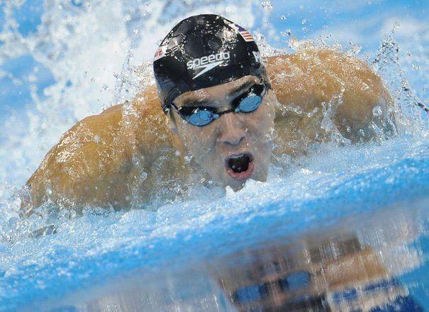 L'Américain Michael Phelps dans la finale du 100 m papillon aux Mondiaux de natation à Shanghai, le 31 juillet 2011