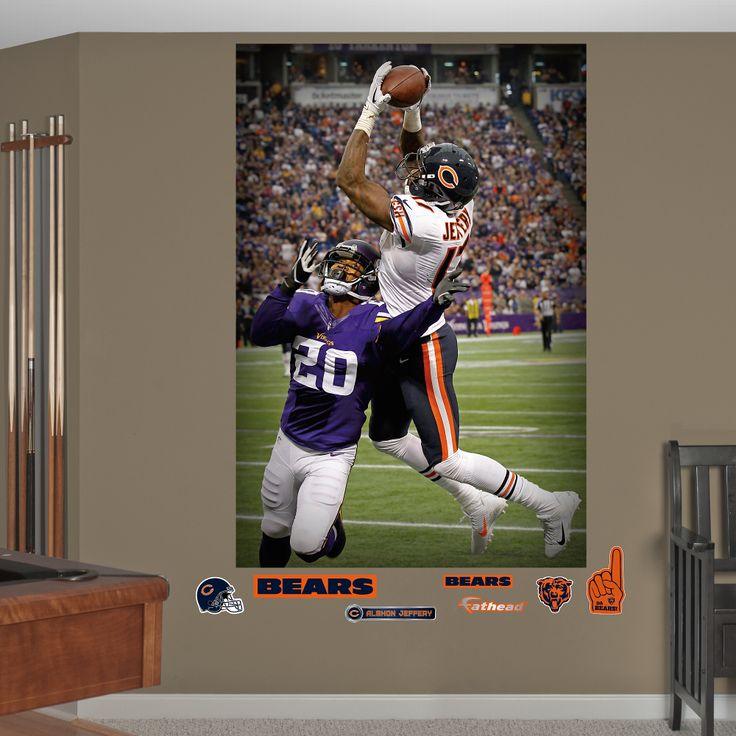 Fathead Chicago Bears Alshon Jeffery Touchdown   Wall Sticker, Mural, U0026  Decal Designs At Wall Sticker Outlet Part 68