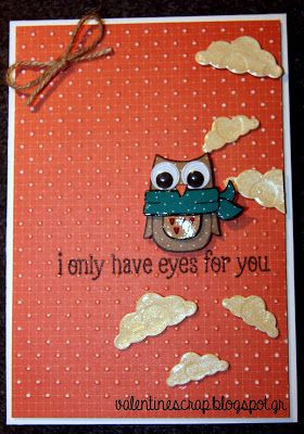 Valentine's Craft: i owl have eyes for you