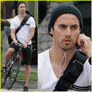 Milo Ventimiglia is a Biker Boy | Milo Ventimiglia : Just Jared