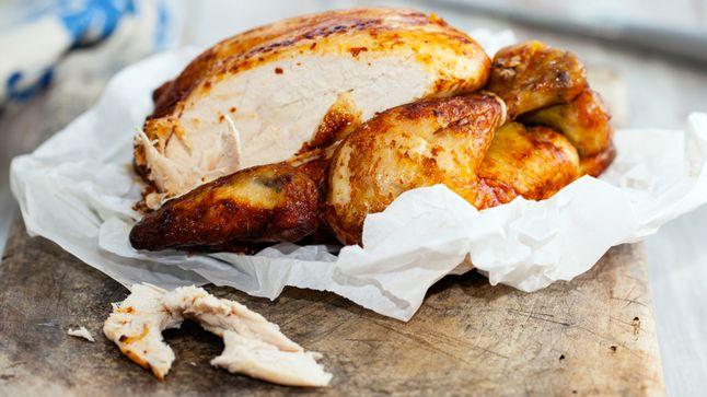 Poitrine de poulet marinée à la lime