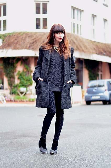Black Winter Outfit 8 by Ricarda Cosima, via Flickr