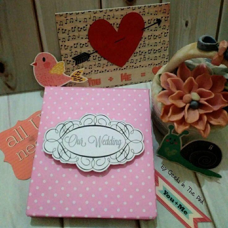 Memo holder for wedding souvenir