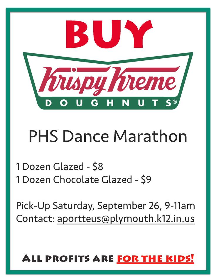 Please help support Plymouth High School Dance Marathon by ordering Krispy Kreme Doughnuts! The profits help Riley Hospital for Children. If you would like to place an order you can contact any student that is pictured below or Mrs. Aimee Portteus in Guidance. #FTK #PCSCweCARE Riley Hospital for Children at IU Health @PlymouthCSC_IN