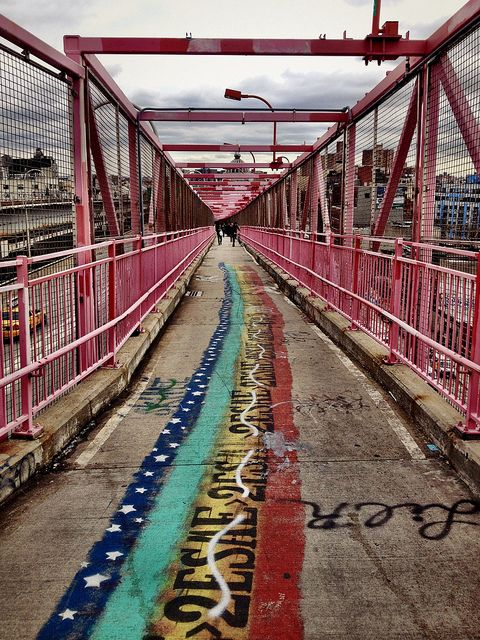 The Rainbow Road to Brooklyn - After Sandy - New York City by Vivienne Gucwa, via Flickr