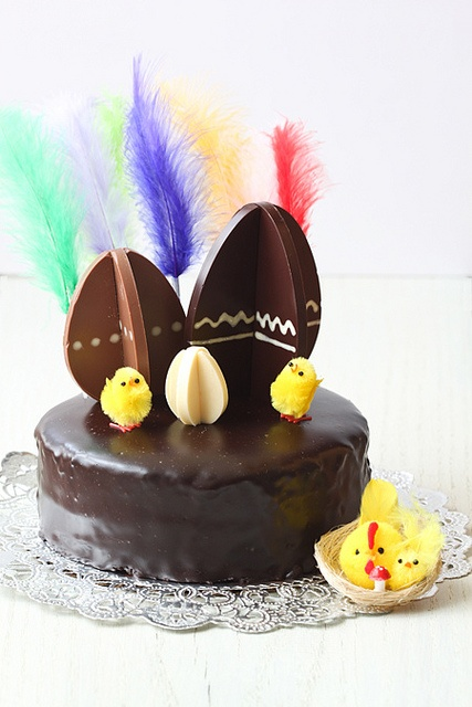 """It's a traditional cake from Catalunya. """"Mona de Pasqua"""" should be eaten on Monday . by cuinaperllaminers, via Flickr"""