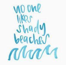 We like our beaches like we like our skin: clean & clear. We like our beaches like we like our skin: clean & clear.