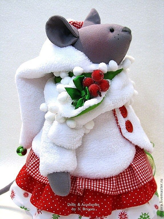 Мыши Новогодние - мыши,мышка,игрушка мышь,игрушка мышка,новогодний подарок
