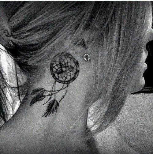 Dreamcatcher/tattoo/girl