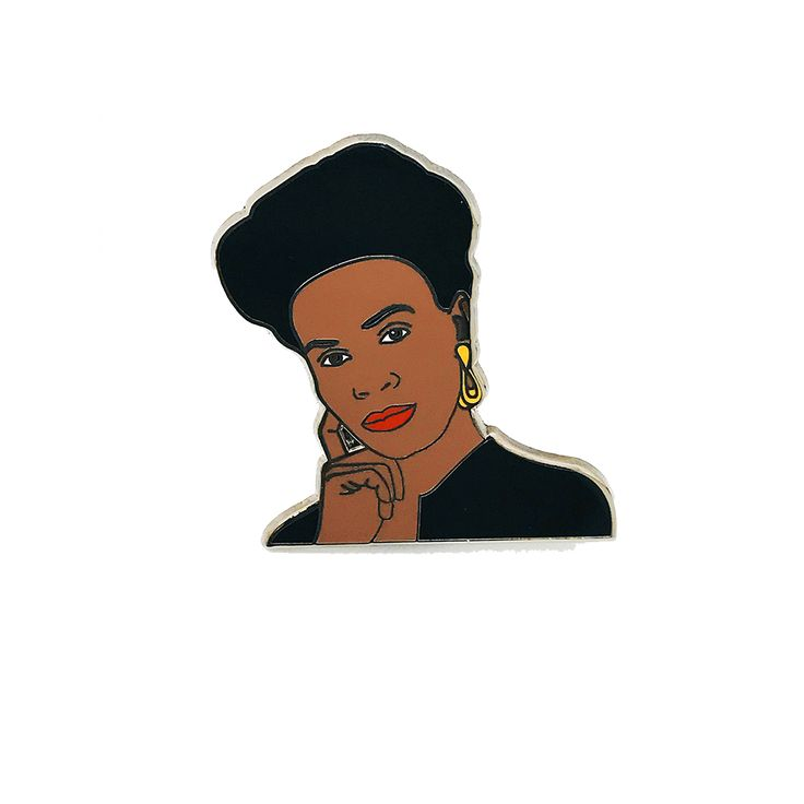"Aunt Viv slayed in dance class for the children and the culture on The Fresh Prince of Bel Air. Commemorate the only Aunt Viv we acknowledge: Version 1.0. Hard enamel pin, w/ gold2 rubber clutchesSize: 1.5"" long"