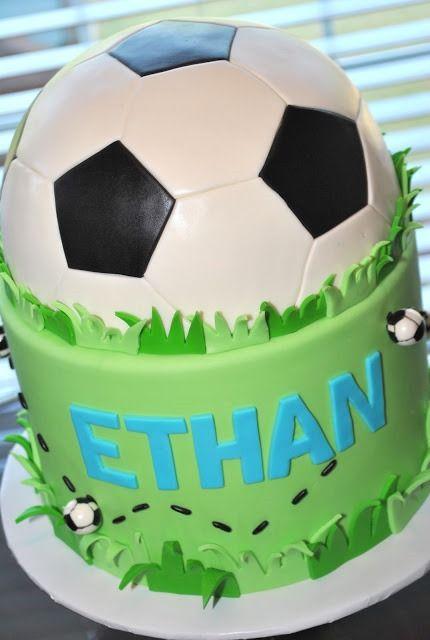 Soccer Cake cuteness