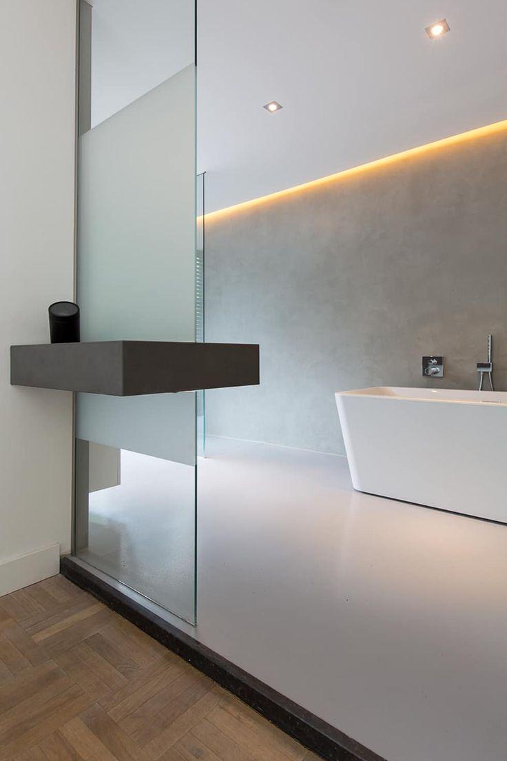 25 beste ideeà n over minimalistische badkamer op pinterest